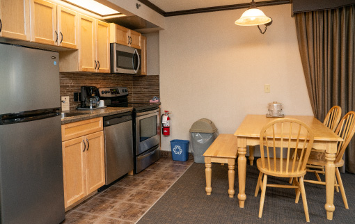 Two Bedroom Suite - King and Two Queens