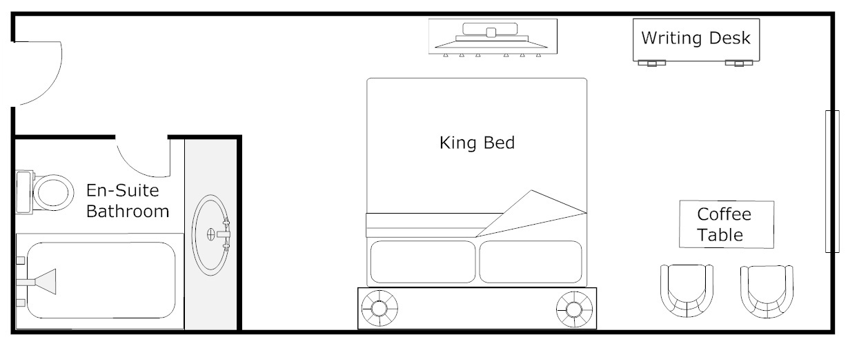 Floor Plan - Superior King Room
