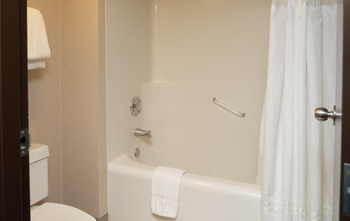 Standard Room - Tub & Shower